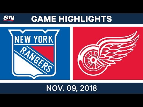NHL Highlights | Rangers vs. Red Wings – Nov. 9, 2018