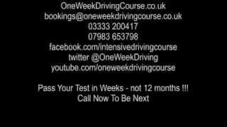 Intensive Driving Courses Manchester | Driving Lessons Manchester - Macclesfield Omar Marquez Ibarra
