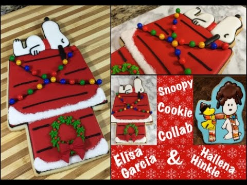 peanuts snoopy christmas cookiehow to - Snoopy House Christmas
