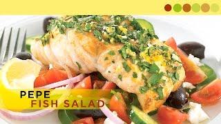 Pepes Fish Salad | Easy Salad Recipe | Chef Atul Kochhar | Janaan Special