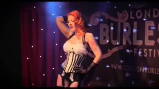 Betty D'Light performing at the London B...