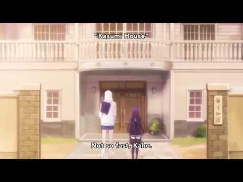Kanade x Kaho || First Kiss (scene) || Hatsukoi Monster Episode 3