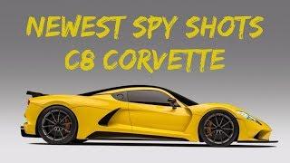 C8 Corvette Spied Outside Detroit!