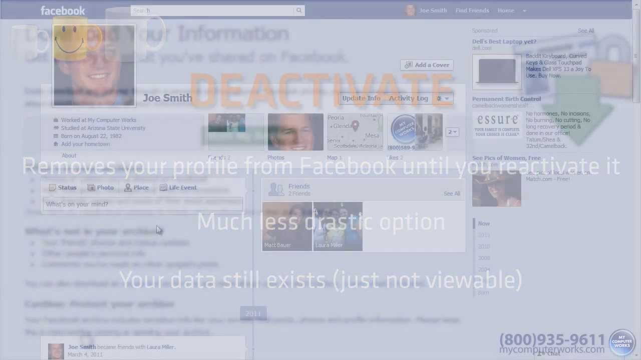 How to delete your facebook account the easy way youtube ccuart Image collections