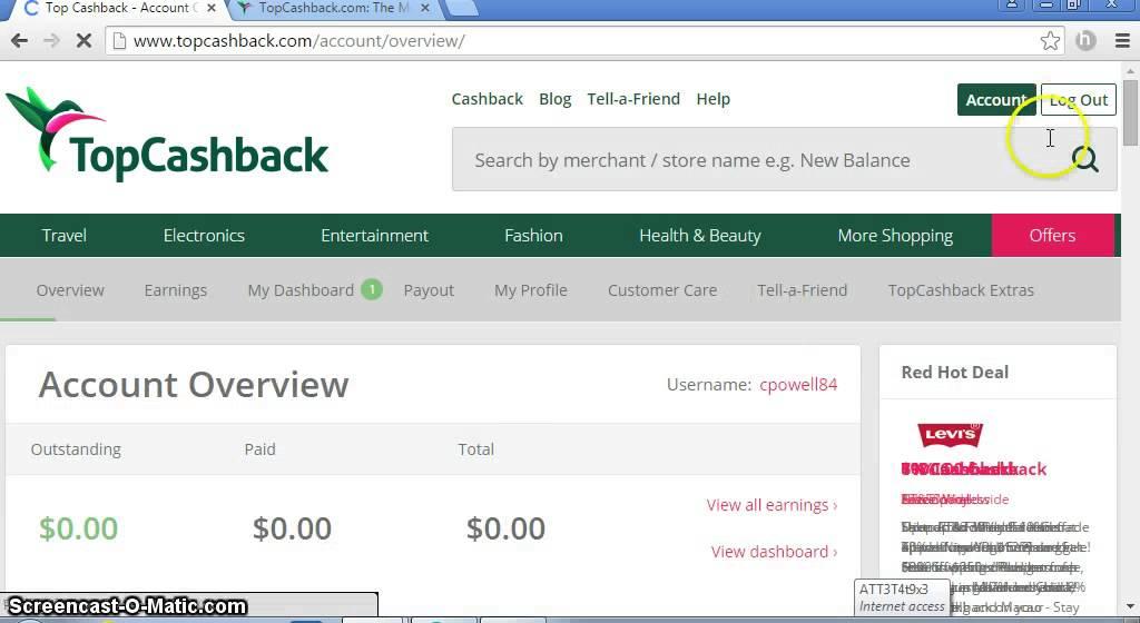 Topcashback complaints