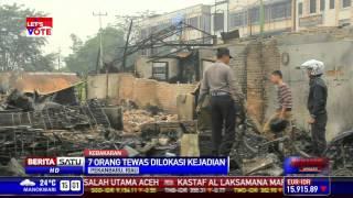 Tujuh Orang Tewas dalam Kebakaran Kios di Pekanbaru