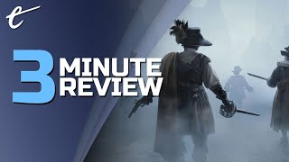 Black Legend | Review in 3 Minutes (Video Game Video Review)