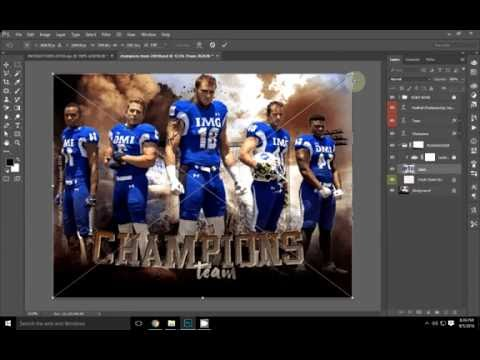 Edit image in Photoshop Themed Template - Private Prize