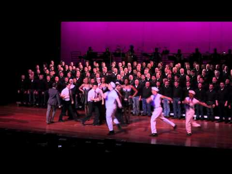 "New York City Gay Men's Chorus Performs ""Not Just For Gays Anymore"""