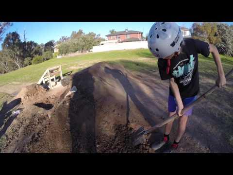 Dirt Jumps -kicker #vlog1