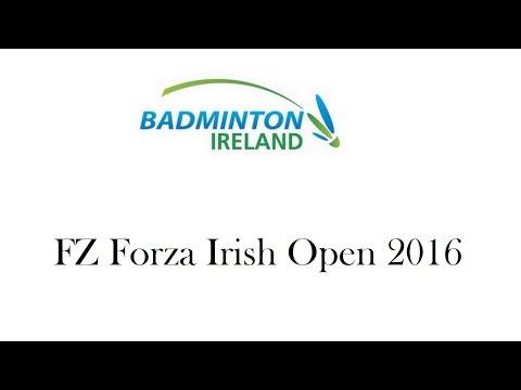 Christiansen / Thygesen vs Lamsfuss / Herttrich (XD, QF) - Irish Open 2016
