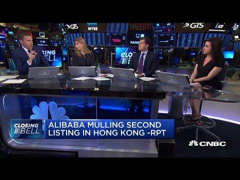 Alibaba Considers $20 Billion Hong Kong Listing