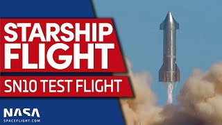 LIVE: Starship SN10 Flight Test