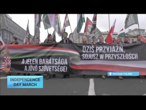 Poland Independence Day: Polish nationalists march to mark 97th Independence Day