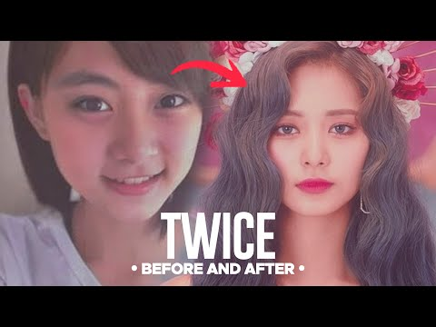 TWICE - Predebut Vs Now (Before and After)