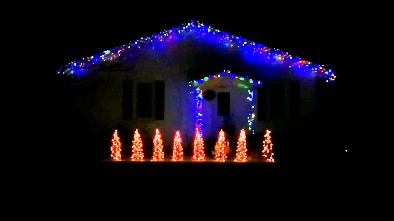 2014 Christmas Lights - Carol of the Bells - Mannheim Steamroller ...