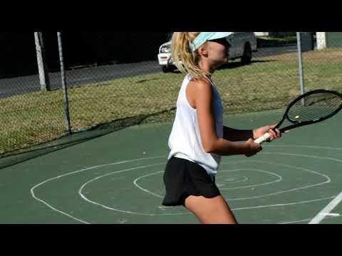 Tennis with Biance Van Zyl