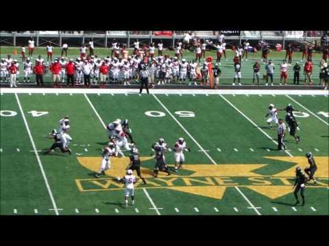 Detroit Cass Technical High School vs Oak Park High School, 8/28/2016, Second Quarter
