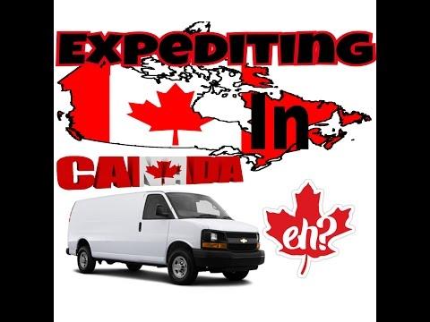 Van Life Expediting in a Van in Canada