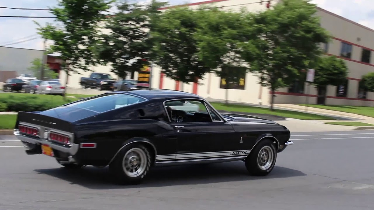 68 Shelby Gt500 >> 1968 Shelby Gt500 For Sale With Quick Test Drive Driving Sounds And Walk Around Video