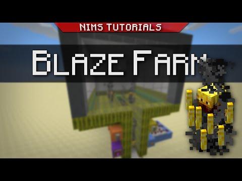 Minecraft: Tutorial   How to Build a Simple & Efficient Blaze Farm