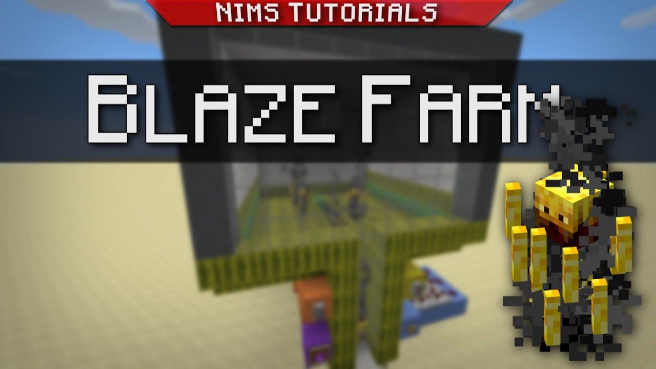 Minecraft: Tutorial | How to Build a Simple & Efficient Blaze Farm