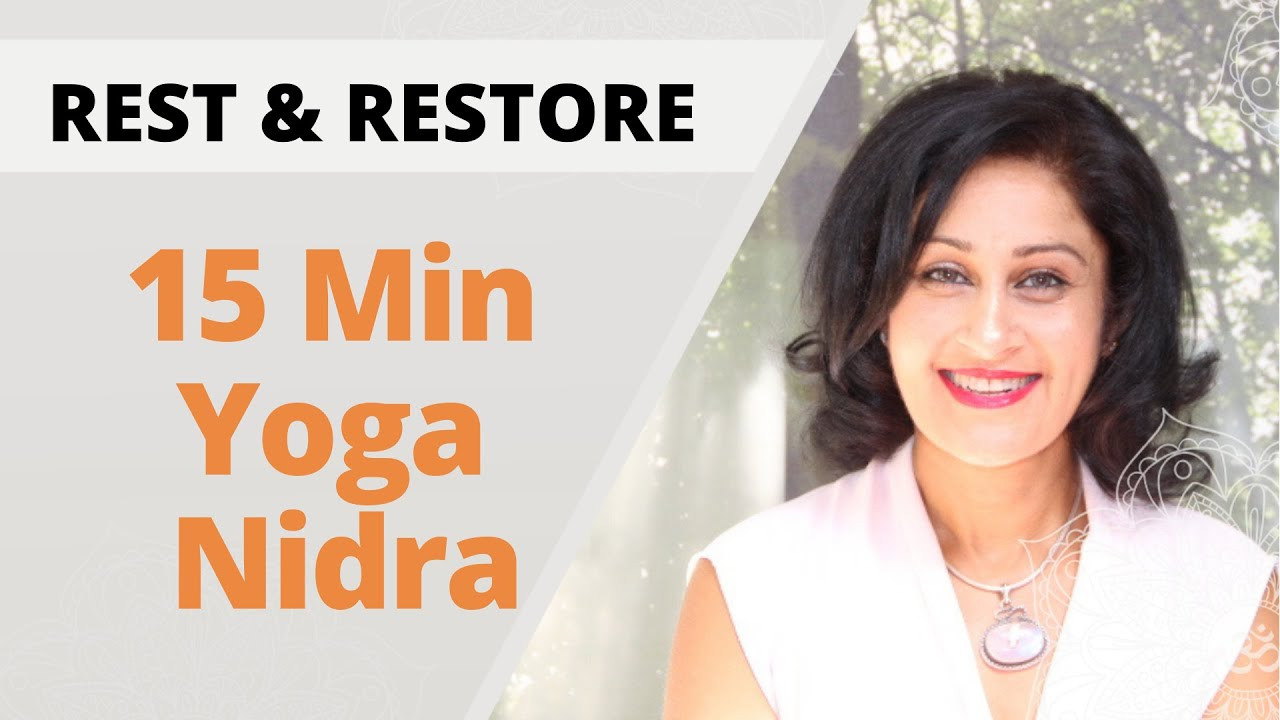 Yoga Nidra  | 15 Min sequence to rest and restore energy with Gee Gair