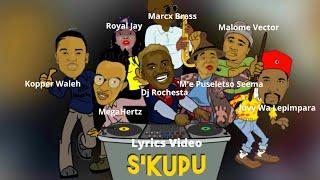 Dj Rochesta ft MegaHertz, Malome Vector, Juvy Wa Lepimpara, Kopper Waleh... (Lyrics Video)