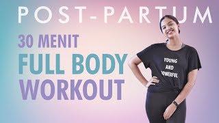 30 Menit Olahraga Setelah Melahirkan Dengan Dumbbell | Full Body Workout |