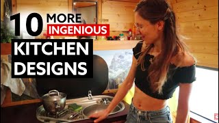 10 (MORE) INGENIOUS KITCHEN DESIGNS For Your Van Conversion