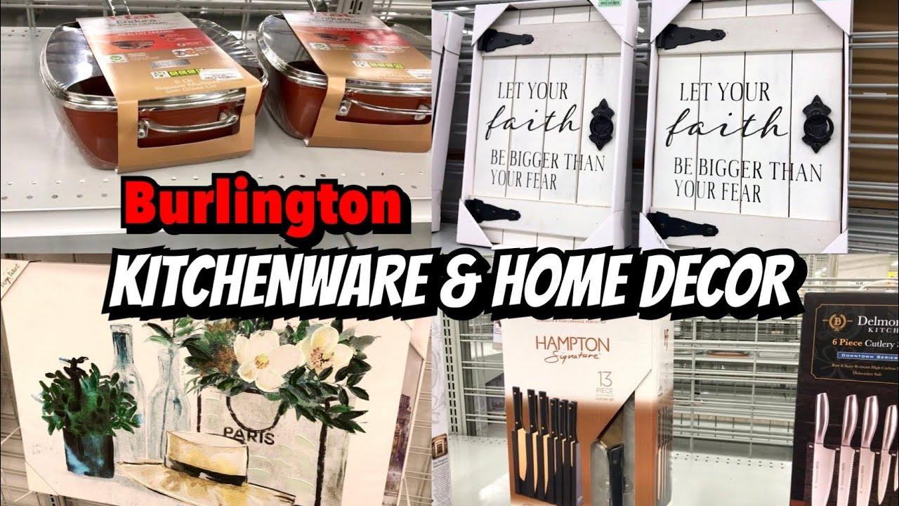 BURLINGTON SHOP WITH ME KITCHENWARE & HOME DECOR | VIRTUAL SHOPPING