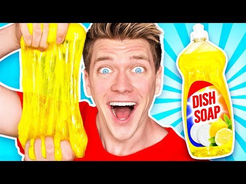 making-slime-out-of-weird-objects!-learn-how-to-make-no-glue-diy-best-slime-vs-real-food-challenge