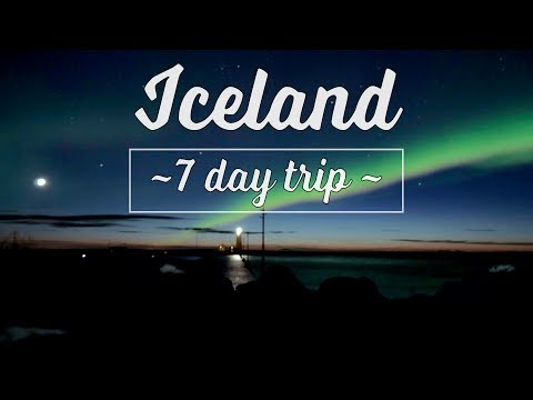 7-day spring trip to ICELAND