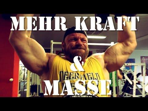 Mehr Masse & Kraft im Oberkörper