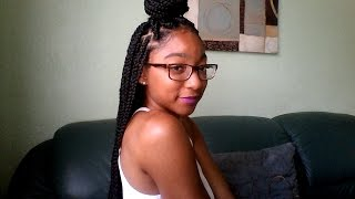 how to box braids for beginners