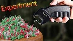 Experiment - Kann man mit einem E-schocker Knallfrösche knallen?