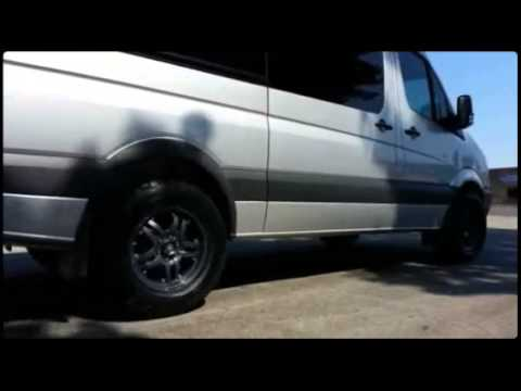 Mercedes Benz Sprinter Van on 18 ATX wheels by Wheels N ...