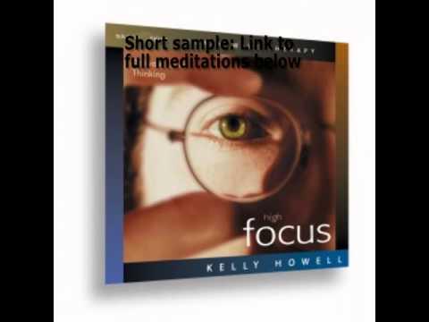 High Focus Brainwaves for Concentration MP3 Kelly Howell BrainSync Track 2  Sample
