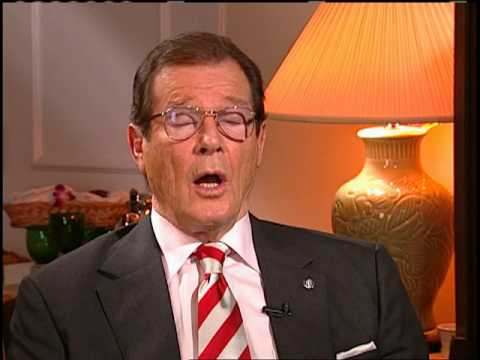 Sir Roger MOORE on InnerVIEWS with Ernie Manouse