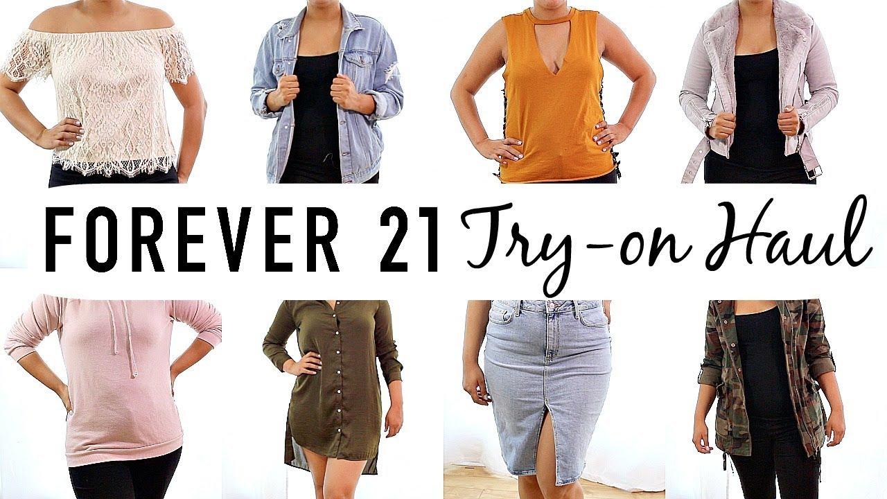 f2ea3d9d211 Forever 21 Fall Clothing Haul