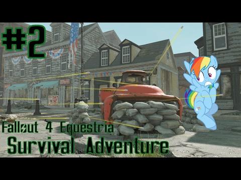 Fallout 4 Equestria: Survival Adventure (MLP Mods) Part 2