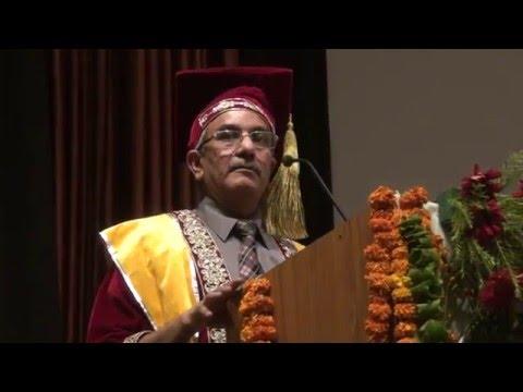 Subharti University Diploma Convocation at  Mangalya Auditorium on 16 th May Clip11