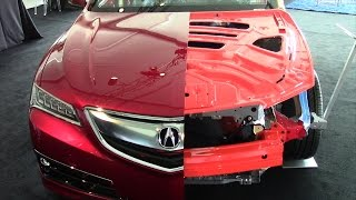 2015 Acura TLX lightweight, high-strength body structure