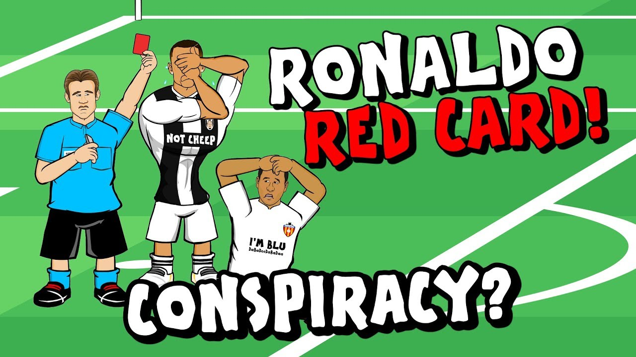 ronaldo-red-card-conspiracy-valencia-vs-juventus-champions-league-18-19-parody