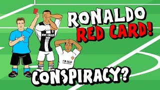 🔴RONALDO RED CARD🔴 Conspiracy? (Valencia vs Juventus Champions League 18-19 Parody)