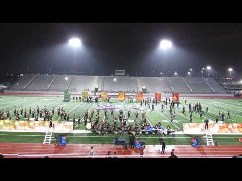 Los Fresnos High School Falcon Band 2018 Pigskin Show Colors of Autmn