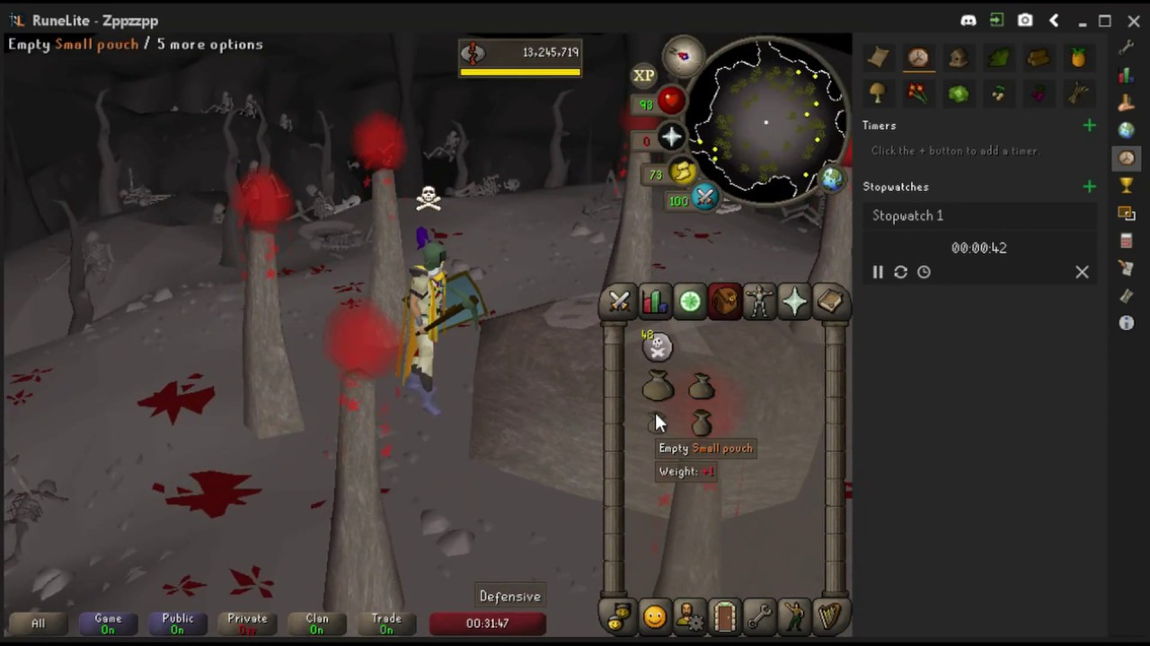 Osrs 1 6m Gp An Hour 99 Rc Doubles Oldschool Runescape