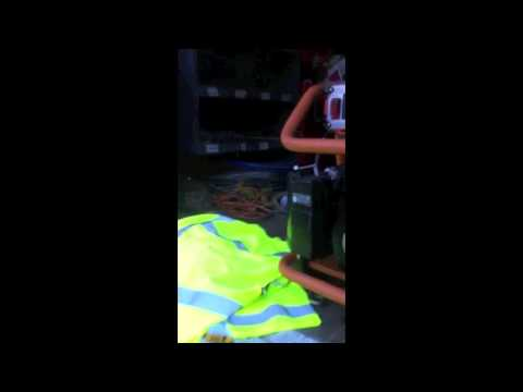 Insider Video: Terry Doyle from TJC Painting removes equipment from Sandro's Truck at Marshall, Va