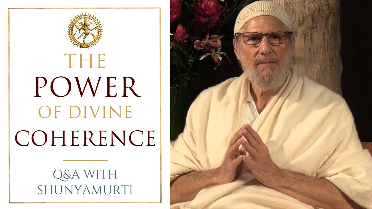Bring God's Coherence to the World - Questions & Answers with Shunyamurti