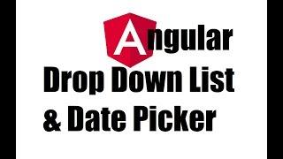Datepicker in angular